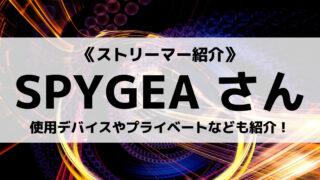 「DeToNator」の「SPYGEA」さんについて紹介!