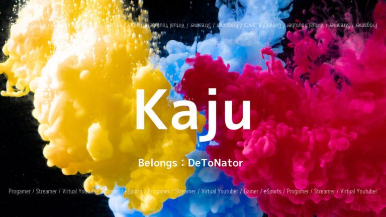 「DeToNator」の「Kaju」選手について紹介!