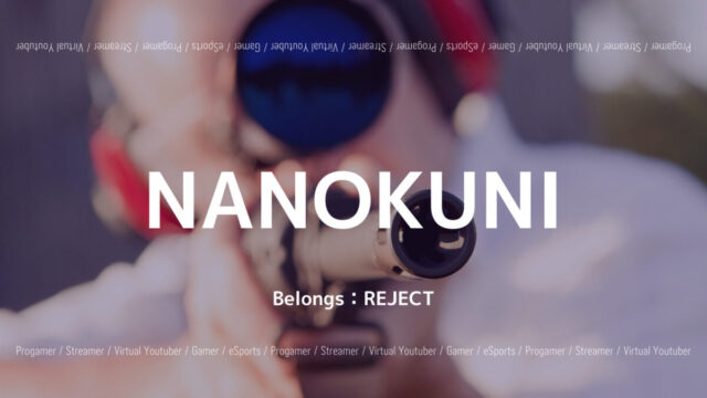 REJECT・NANOKUNI