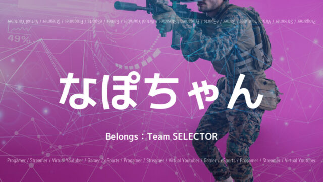 Team SELECTOR・なぽちゃん